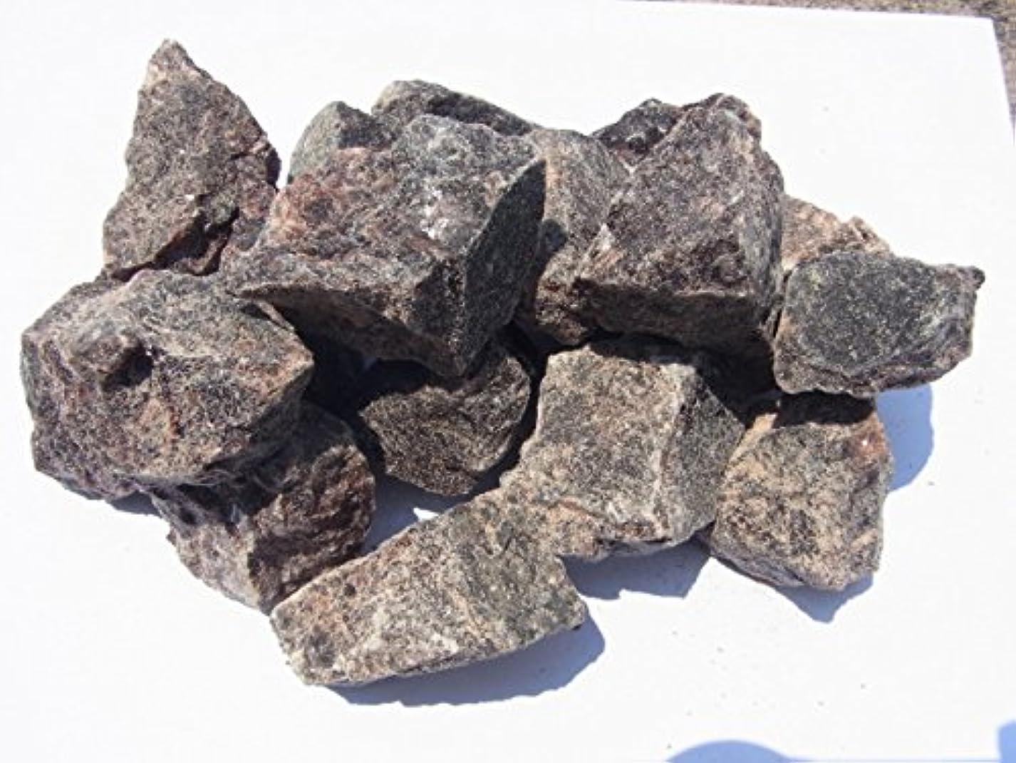 牽引パテコンテンツヒマラヤ岩塩1kg【ブラックソルト】 ミネラルクリスタル ブロック バスソルト