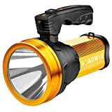 Roadwiz Rechargeable 6000 Lumens Super Bright LED Searchlight Spotlight Flashlight Torch Lantern