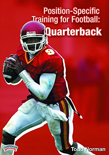 Championship Productions Todd Norman-Position Specific Training for Football: The Quarterback DVD
