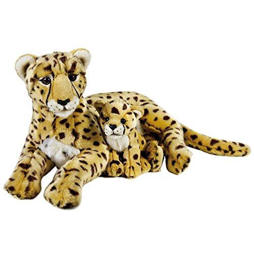 VENTURELLI Con guepardo bebé Ngs Bosco de juguete de felpa 241