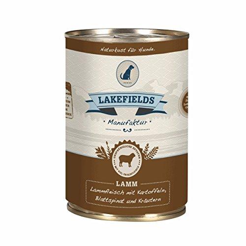 LAKEFIELDS Dosenfleisch-Menü Lamm fettarm 400g (1 x 400g)