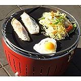 ハーフェレジャパン 無煙炭火バーベキューグリル BBQ ロータスグリル グリルマット 2枚入り FGT-330B-32