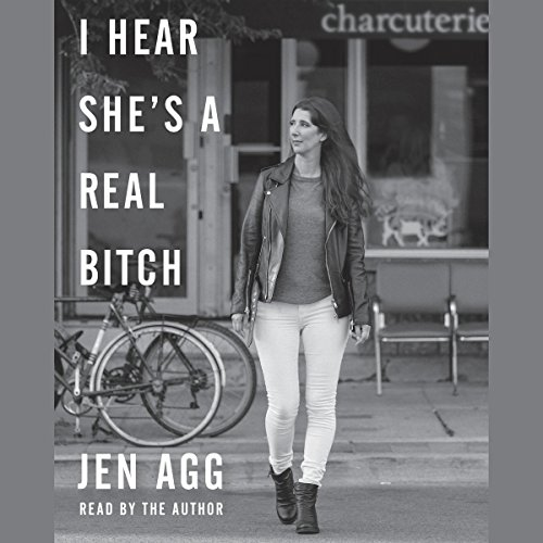 I Hear She's a Real B*tch audiobook cover art