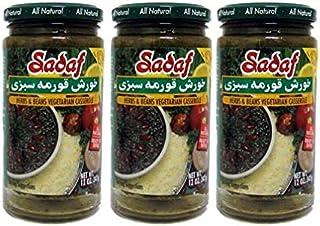 Sadaf Khoresh Ghormeh Sabzi Herbs & Beans Casserole, 12 oz (Pack of 3)