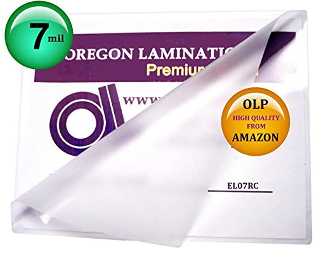 非行冷淡な受益者Qty 100 7 Mil 12 x 18 Menu Laminating Pouches Hot Laminator Sleeves by Oregon Laminations Company [並行輸入品]