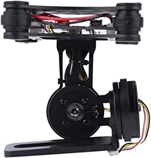 DP-iot Black FPV 2 Axle Brushless Gimbal with Controller for DJI Phantom GoPro 3 4