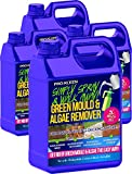Pro-Kleen Simply Spray & Walk Away Concentrate Patio - Fencing - Decking - Green Mould and Algae Moss Killer (20L Simply Spray)