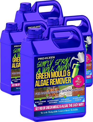 Pro-Kleen Patio Cleaner Simply Spray & Walk Away Concentrate Green Mould and Algae Killer Remover 20...