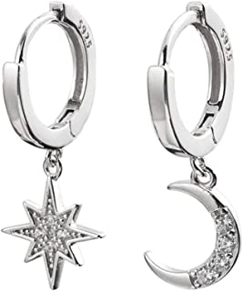 Best silver hoop earrings with charms Reviews
