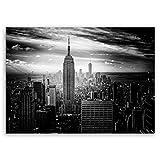 Bilderdepot24 hochwertiges Leinwandbild - Empire State