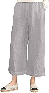 Cromoncent Women Bowknot Trousers Sleeveless Jogger Loose Jumpsuit