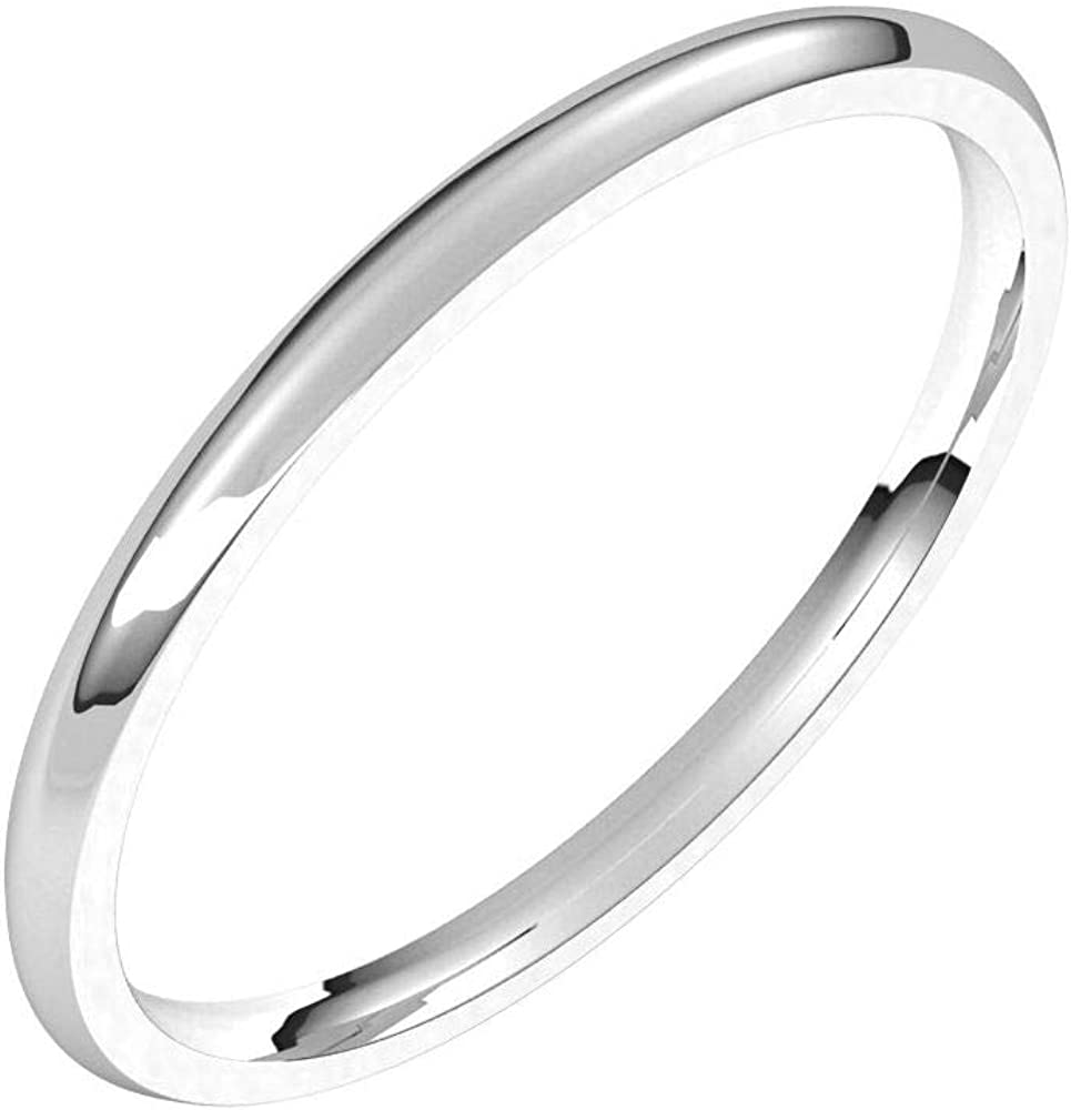 Solid 100% quality warranty Palladium 1.5mm Comfort Fit Plai Ring Wedding Classic Band It is very popular