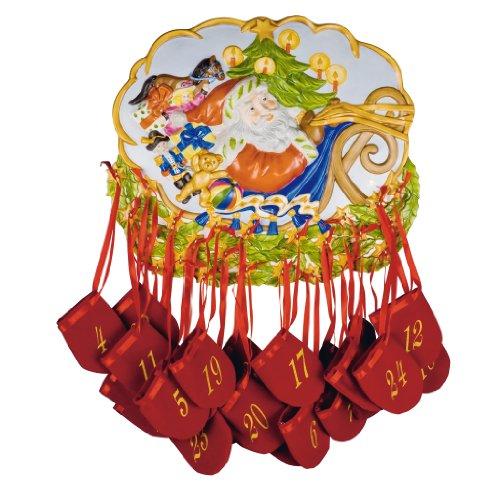 Hutschenreuther Porzellan Adventskalender 2008, limitiert auf 1000 Stück, Kalender, Advent, Weihnachten / Advent calendar - limited edition 1000 pcs. / Calendario dell'avvento - serie limitata 1000 pz