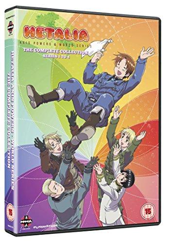 Hetalia Axis Powers Complete Season 1-4 Collection [DVD]