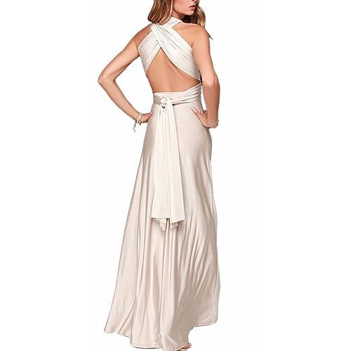 233644962c EMMA Donne Lunga Vestito da Cocktail da Sera Elegante Damigella D'onore