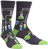 Sock It To Me Herren Crew-Socken - Labor (im Dunkeln leuchten)-(EU 40-46)