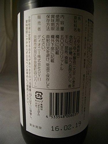 嵯峨野匠庵『天然醸造だし醤油』