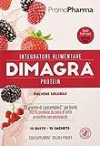 Dimagra Protein Red Fruit Sachets Integratore Alimentare - 220 gr