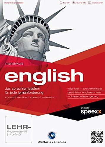 Preisvergleich Produktbild Intensivkurs English: Der Englischkurs für Anfänger,  Wiedereinsteiger und Fortgeschrittene