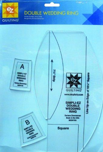 Simpli-EZ 8829419 - Herramienta para Coser almazuelas, diseño de Anillo de Boda Doble