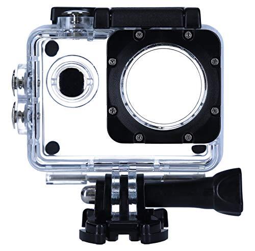 Rollei Actioncam 4s Plus - Carcasa Impermeable para cámara de acción, Transparente