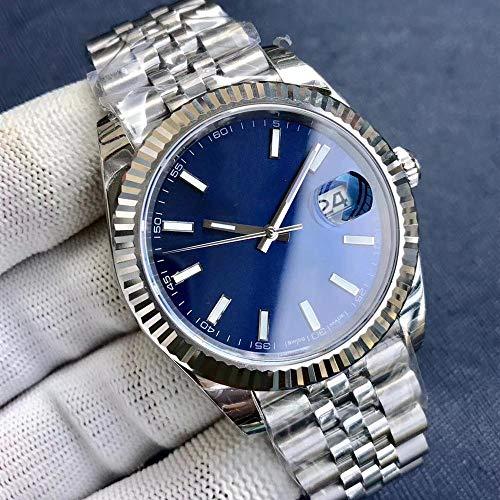 MKOIJN Horloges Luxe Merk Automatisch Mechanisch Horloge Voor De Heren Horloges Heren 40Mm Aluminium Bezel Geborstelde Armband