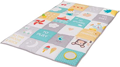 Taf Toys I Love Big Mat | Baby Activity Mat, Baby's Development and Easier Parenting, Soft Colored & Thickly Padded for Comfort, Ideal for Twins, Best for Fun and Tummy Time Activities, Double Size
