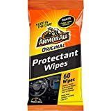 Armor All Original Protectant Wipes, Car Interior Cleaner with UV Protection to Fight Cracking & Fading, Medium Shine, 60 Count, 19265