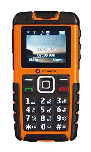 Top Tronic Monaco Outlimits DSS Telefono Cellulare, Dual SIM, Arancio [Italia]