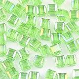 6mm forma cuadrada n cuentas de cristal 50 unids / lote cuentas...