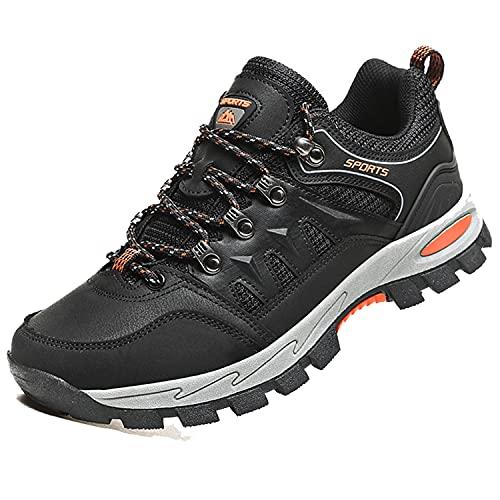 VTASQ Calzature da Escursionismo Scarpe da Arrampicata Trekking Uomo Scarpe Scarponi da Montagna Sportive Stivali da Escursionismo Outdoor Scarpe Nero 41