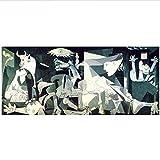 XingChen Leinwand Kunstwerk 70x140cm ohne Rahmen Guernica