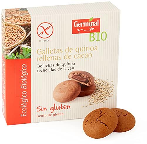 GERMINAL Galletas Quinoa Rellenas De Cacao Bio Sin Gluten - - 200G