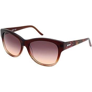 Just Cavalli Womens JC499S Acetate Sunglasses BROWN 60