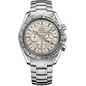 Omega Men's 3581.30.00 Speedmaster Broad Arrow GMT Automatic Chronometer Chronograph Watch Sale and For Your and review