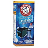 Arm & Hammer Trash Can & Dumpster Deodorizer with Baking Soda Qty 9