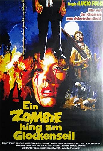 EIN Zombie Hing am Glockenseil (1980) | Kleinformat Filmplakat, Poster [29,7 x 42 cm, Din A3]
