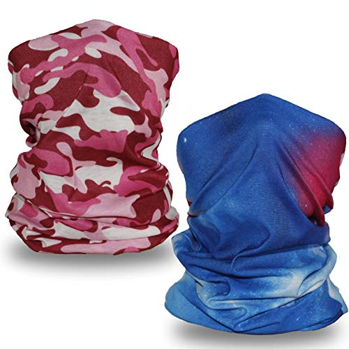 TuxCen Kids Neck Gaiter Bandana Face Mask Scarf Balaclava Summer UV Protection