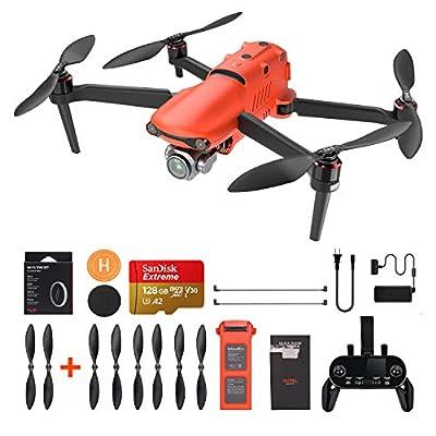 "Autel Robotics EVO2 Drone UAV - EVOII Pro Quadcoptor, 3-Axis Gimbal HDR 6K Camera with 20MP 1""CMOS Sensor GPS 40mins Max Flight Time Smart Controller (EVO II Pro 6K Type 1)"