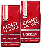 Eight O'Clock Coffee, Original Whole Bean, 42-Ounce Package, Pack of 2