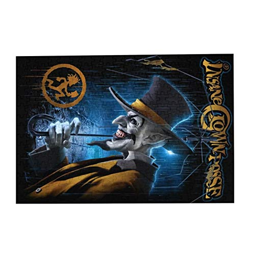 """JIECARKO Insane Clown Posse Art 300 Large Pieces Jigsaw Puzzle for Adults and Kids Wooden Puzzle for Decompressing Game Colorful Toys Home Decor 15.07""""x 10.23"""""""