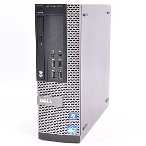 Dell OptiPlex 7010 SFF 3rd Gen Quad Core i5-3470 8GB 500GB HDD DVDRW Windows 10 Professional 64-Bit Desktop PC Computer (Renewed)