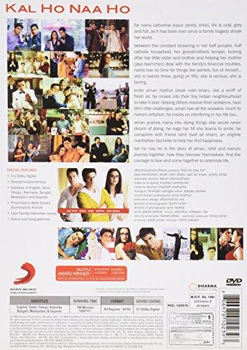 Kal Ho Naa Ho Bollywood DVD With English Subtitles