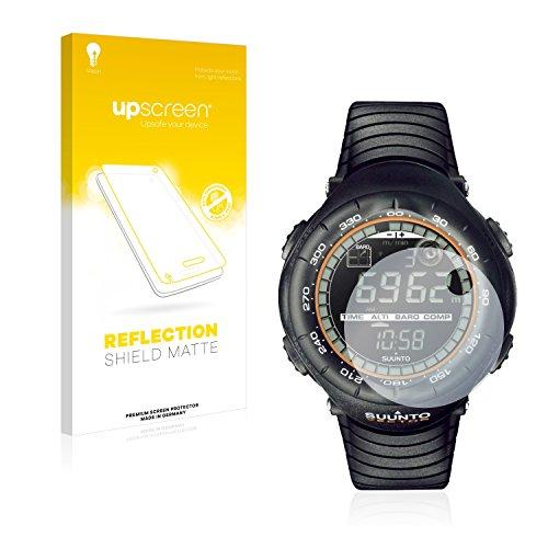 upscreen Entspiegelungs-Schutzfolie kompatibel mit Suunto Vector Xblack – Anti-Reflex Bildschirmschutz-Folie Matt