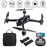 LOHOME JJRC X8 RC Quadcopter - 2.4GHz 6-Axis Gyro 1080P HD 5G WiFi Camera FPV Remote Control Drone with GPS, Altitude Hold, Headless Mode, Follow Me, Return Home, 2 Batteries, 1 Backpack as MJX B2SE
