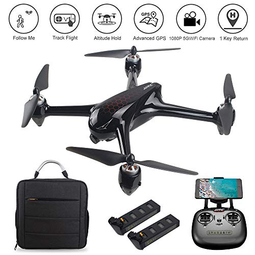 LOHOME JJRC X8 RC Quadcopter - 2.4GHz 6-Axis Gyro 1080P HD 5G WiFi Camera FPV Remote Control Drone...