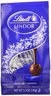 Lindt LINDOR Dark Chocolate Truffles ,5.1 Ounce (Pack of 6) (B002RBOBNW) | Amazon price tracker / tracking, Amazon price history charts, Amazon price watches, Amazon price drop alerts