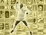 Pele Brasilien Fußball A1Größe glänzend Poster
