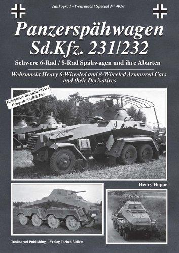 Tankograd Panzerspähwagen Sd.Kfz. 231/232 4010