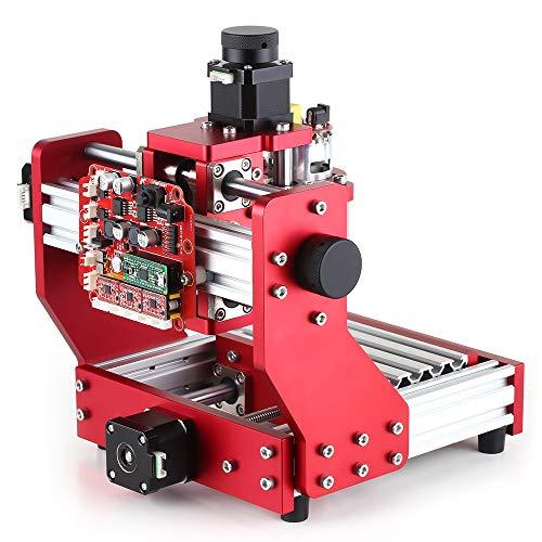 KKmoon Mini CNC Router 1310 Macchina per Incidere Incisore della Macchina del La-ser di Fresatura del PWB del Corredo della Fresatrice del Metallo dell'incisione con la Pinza ER11